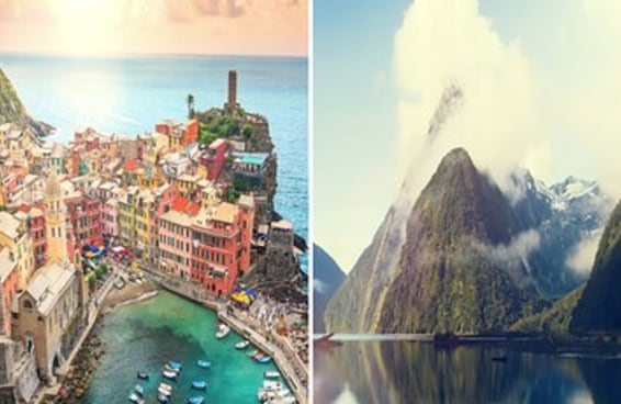 Estes são os 49 lugares mais bonitos da Terra