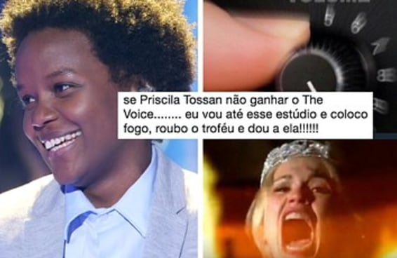 """Estou completamente obcecada pela Priscila Tossan do """"The Voice"""" e não sou a única"""