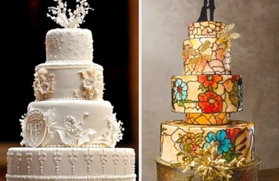 """Diga """"sim, eu aceito"""" ou """"não aceito"""" para bolos de casamento e diremos como será seu cônjuge"""