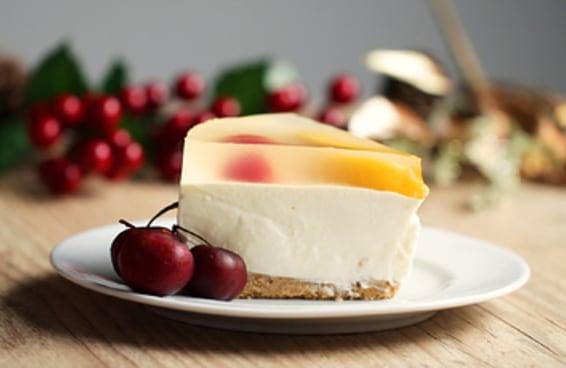Esse cheesecake vai deixar seu Natal muito chique