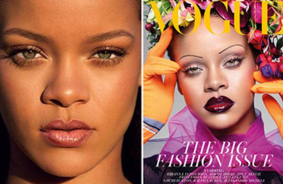 A sobrancelha dos anos 2000 pode estar voltando e a culpa é da Rihanna