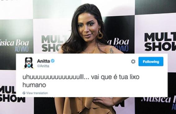 Anitta descobriu que seus tuítes antigos são famosos em entrevista ao BuzzFeed Brasil