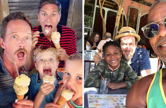 20 pessoas e casais LGBTI+ que têm filhas e filhos fofíssimos
