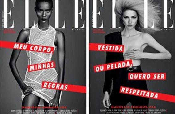 Elle Brasil lança edição com capas feministas