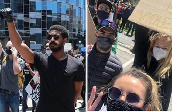 28 celebridades que marcharam nos protestos do Black Lives Matter
