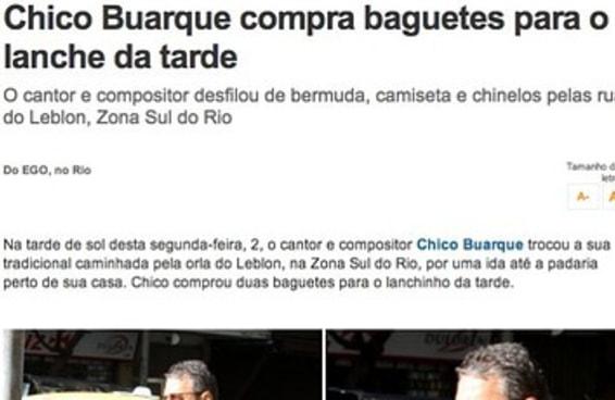 25 notícias de famosos fazendo nada que pararam o Brasil