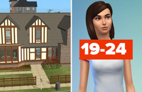 """Construa uma casa em """"The Sims"""", e vamos adivinhar sua idade com 92% de precisão"""