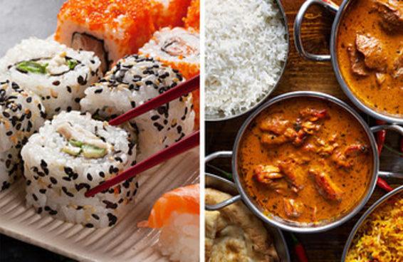 Faça uma viagem culinária pela Ásia e diremos em qual cidade asiática você deveria morar