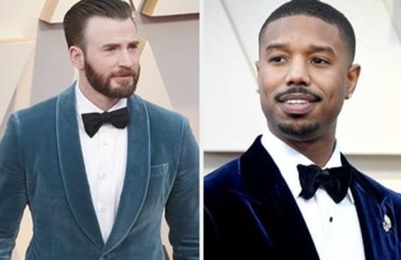 24 homens que podiam desfilar no tapete vermelho do Oscar lá da minha casa
