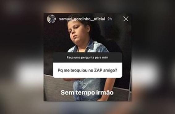 """Eu declaro """"Sem tempo irmão"""" o melhor meme do biênio 2018-2019"""