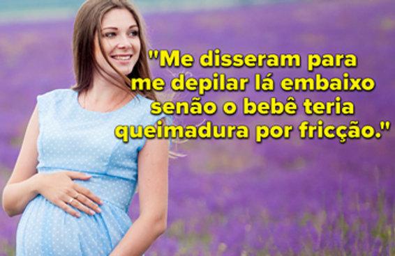 28 vezes em que as pessoas deram conselhos totalmente HORRÍVEIS sobre gravidez