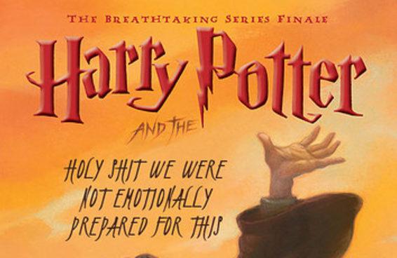 Isso é o que aconteceria se os títulos da saga Harry Potter fossem sinceros