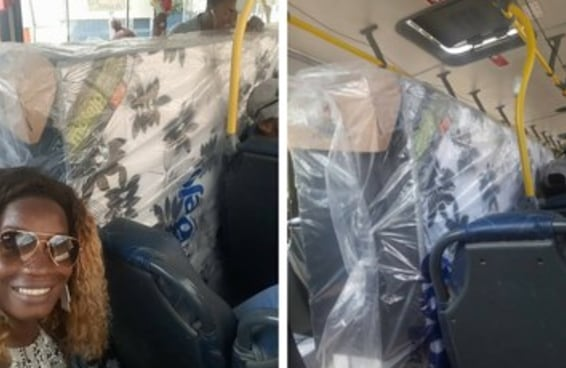 Um casal entrou num ônibus com uma CAMA BOX com colchão e tudo