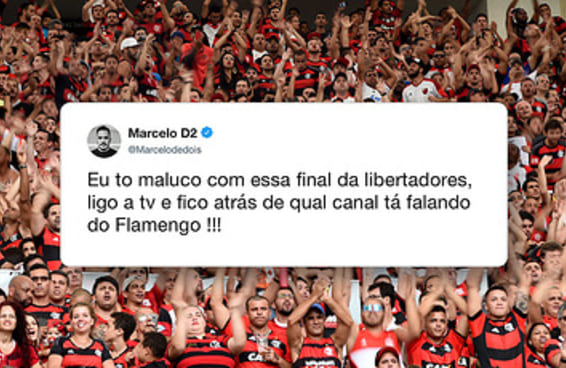 12 tweets que provam que as pessoas só estão pensando na Libertadores