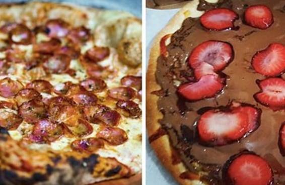 Escolha entre estas pizzas e diremos qual é seu tipo de crush
