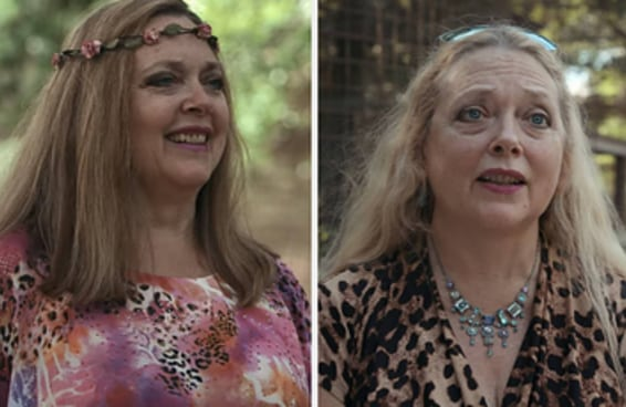 """Carole Baskin, de A Máfia dos Tigres, se assumiu como bi e disse: """"sempre me considerei bissexual"""""""
