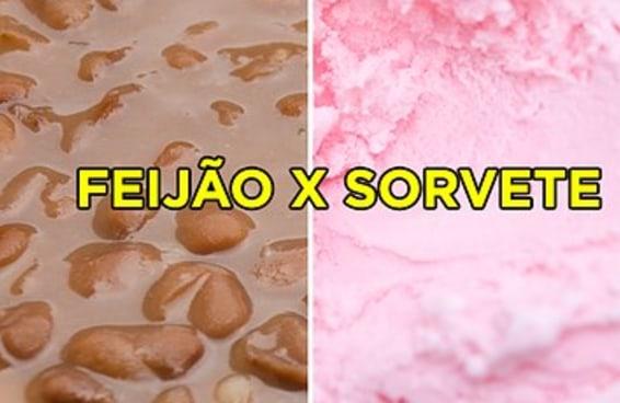 Você consegue descobrir se no pote tem feijão ou sorvete?