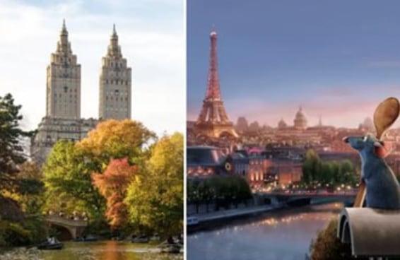 Você é um novaiorquino ou parisiense de coração?