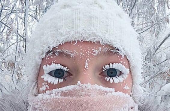 Assim é a vida num lugar onde o frio chega a -71 graus Celsius
