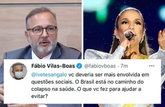 O secretário de saúde da Bahia causou o maior fuá entre as celebridades no Twitter