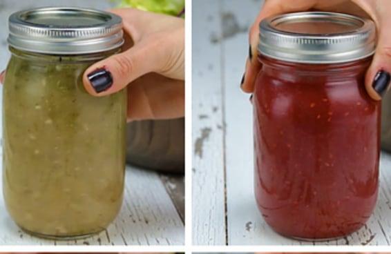 Quatro ideias de molho para saladas