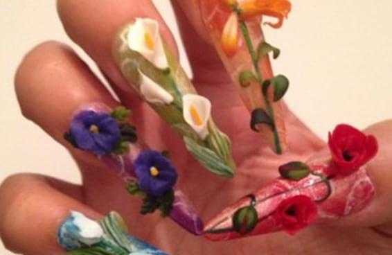 As japonesas estão levando a arte das unhas decoradas a um novo nível