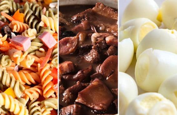 Se você ama mais de 17 destas comidas pode se orgulhar de não ser gourmet