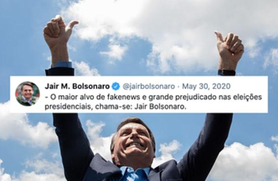 10 tuítes de Jair Bolsonaro que envelheceram mal, muito mal