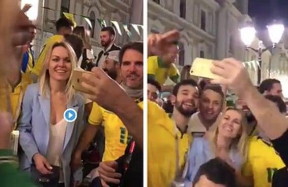 Estes torcedores brasileiros na Rússia servem para nos lembrar que assédio NÃO é zoeira