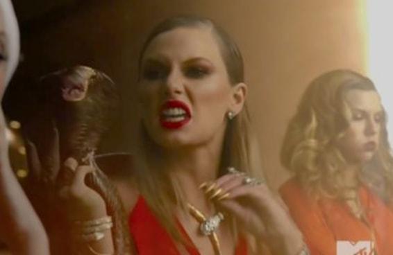 Taylor Swift encarou tudo o que já falaram sobre ela em seu novo clipe