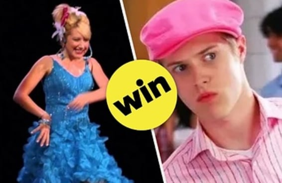 """Qual música de """"High School Musical"""" resume sua vida neste momento?"""