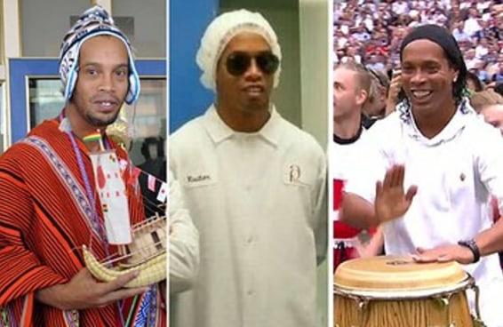 Qual rolê aleatório do Ronaldinho Gaúcho você é?