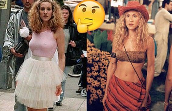 Você usaria estes trajes icônicos de Carrie Bradshaw?