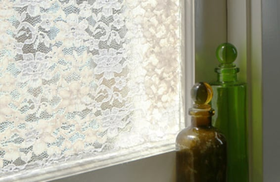Decore suas janelas com esta tela de renda
