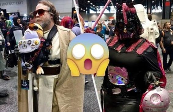 Estes fãs de Star Wars levaram o cosplay a um novo nível