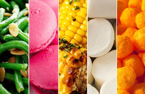 Escolha uma comida de cada cor e descubra o que as pessoas mais adoram em você