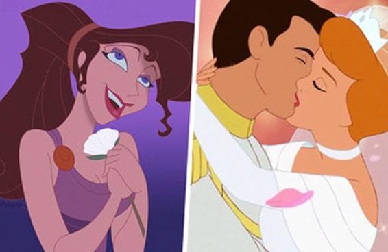 Monte um conto de fadas da Disney e diremos quando você encontrará sua alma gêmea