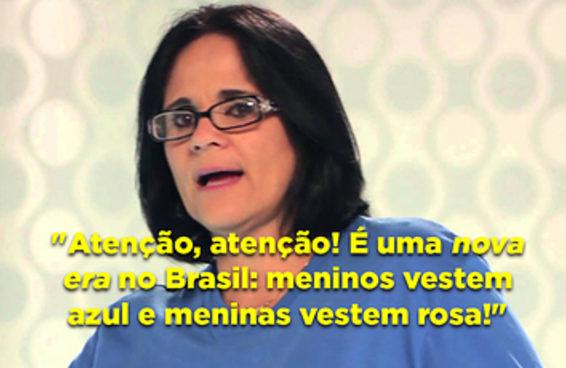Uma nova era chegou no Brasil: meninos vestem azul e meninas vestem rosa