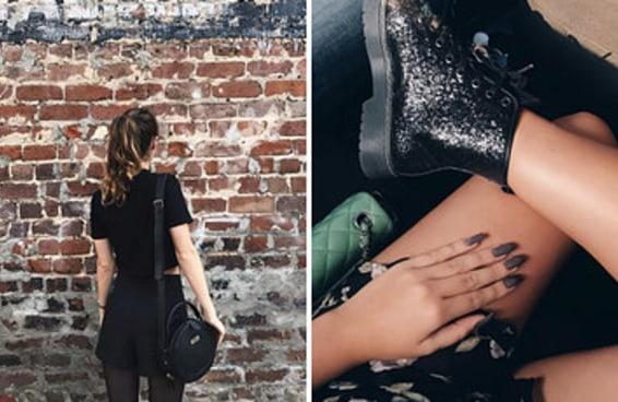 13 pequenos prazeres de quem ama roupas pretas