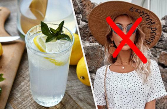Nós vamos descobrir qual estética você odeia só com a limonada caseira que você faria