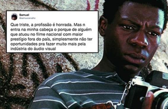 O Alexandre Rodrigues como motorista de Uber fez as pessoas discutirem racismo no entretenimento