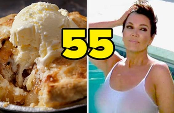 Escolha entre essas comidas quentes ou geladas e adivinharemos sua idade
