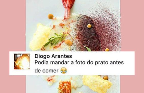 Alex Atala postou um prato chique no Facebook e ninguém entendeu nada