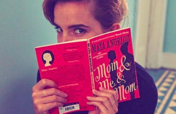 Emma Watson está espalhando livros com bilhetinhos no metrô de Londres