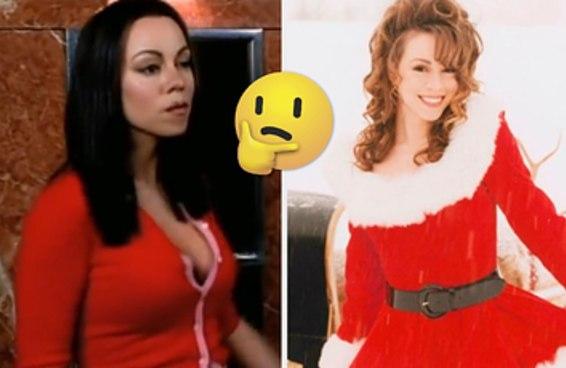 """Este teste """"você é levado(a) ou bonzinho(a)"""" é inspirado na Rainha do Natal em pessoa, Mariah Carey"""