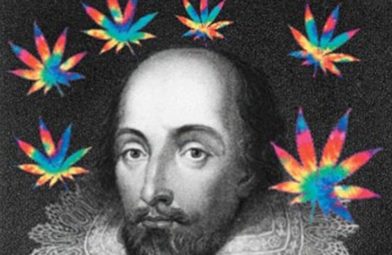 Novas evidências sugerem que Shakespeare pode ter sido maconheiro