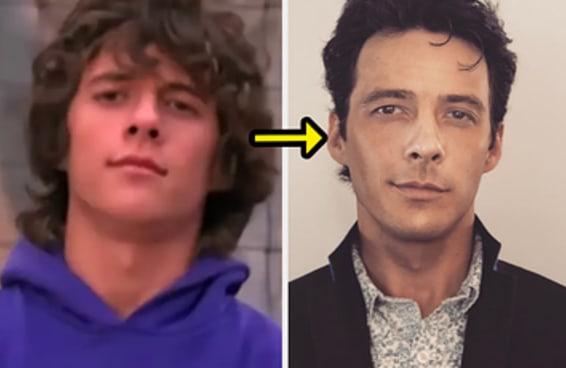 16 fotos de antes de depois dos seus crushes da adolescência