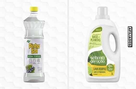 7 produtos de limpeza que causam menos impacto no meio ambiente