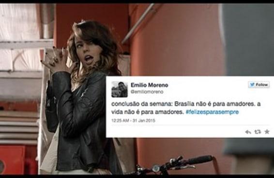 """11 coisas sobre Brasília que o Twitter aprendeu com a série """"Felizes para Sempre?"""""""