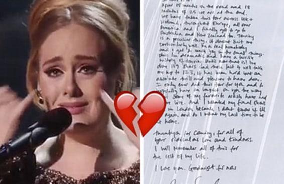 Talvez Adele nunca mais saia em turnê mundial novamente